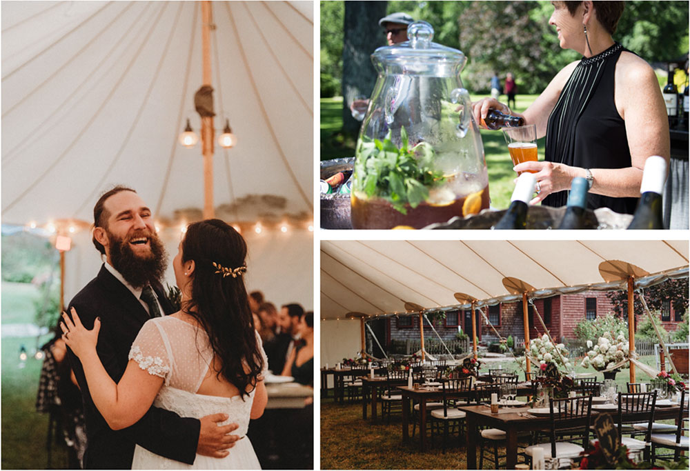 Tented Weddings at Just Right Farm